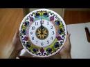 Керамические часы ручной работы (с золотом) Ч-3002