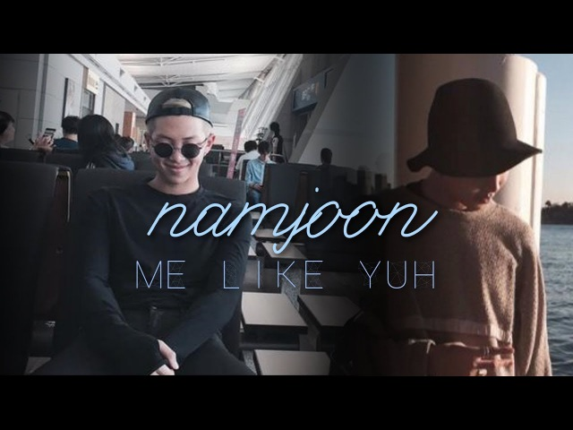 [namjoon] me like yuh [travel!au]