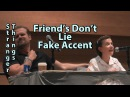 Fake Accent Friends Don't Lie Clips Stranger Things Millie Bobby Brown & David Harbour
