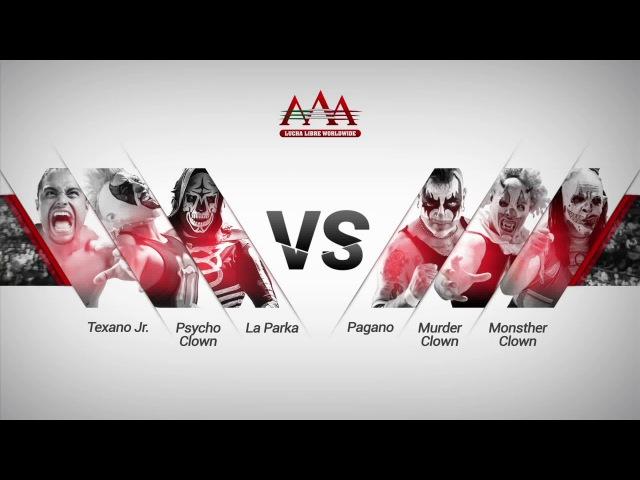 Equipo México Vs Totalmente Traidores - AAA Worldwide en Aguascalientes - Noviembre 2016