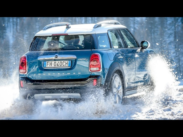 2018 MINI Cooper D Countryman ALL4 - Snow Drive
