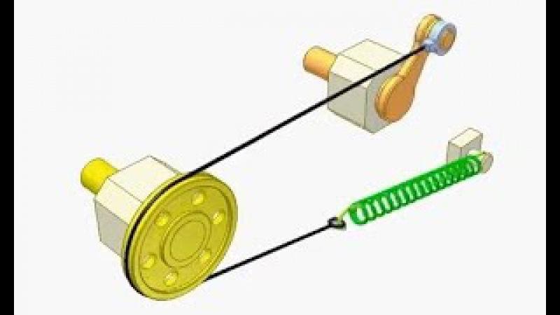 Принцип работы механизмов с помощью трос и каната