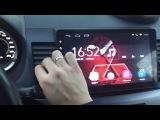 Обзор на магнитолу Ghogath Android 6 1 Mitsubishi Lancer x