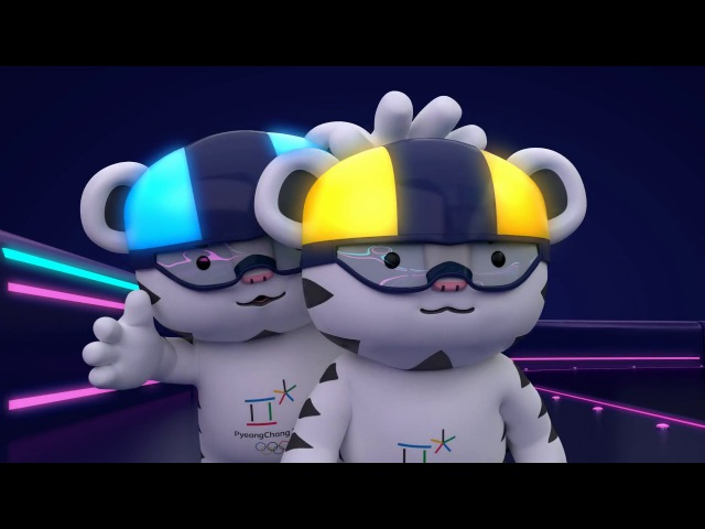 KOR ENG 2018 평창 마스코트 무드등 홍보 영상 PyeongChang 2018 mascots designed 'mood light'