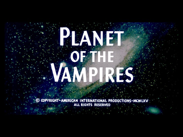 Gino Marinuzzi Jr. - Main Title [Planet of the Vampires, Original Soundtrack]
