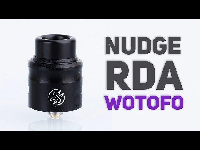 Неужели вкусная дрипка от WOTOFO (Nudge RDA)