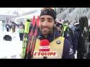 Biathlon - CM (H) : Fourcade «Avec Boe, ce sera une bataille serrée jusqu'au bout.»