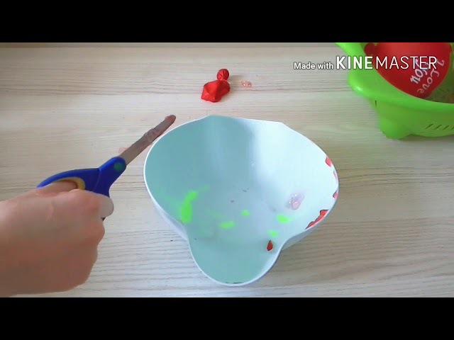 Balondan ne çıkarsa SLİME CHALLENGE! Slime oldu mu Çok tehlikeli ama eğlenceli challengeHanife Fox