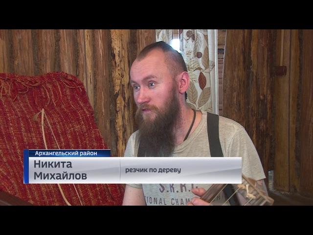 Житель Башкирии создаёт музыкальные инструменты эпохи викингов