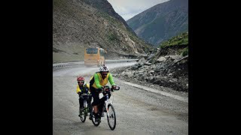 Father and Son Cycle to Mt. Everest - 2017