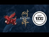 AHQ vs. EDG Group Stage Day 8 2017 World Championship ahq e-Sports Club vs Edward Gaming