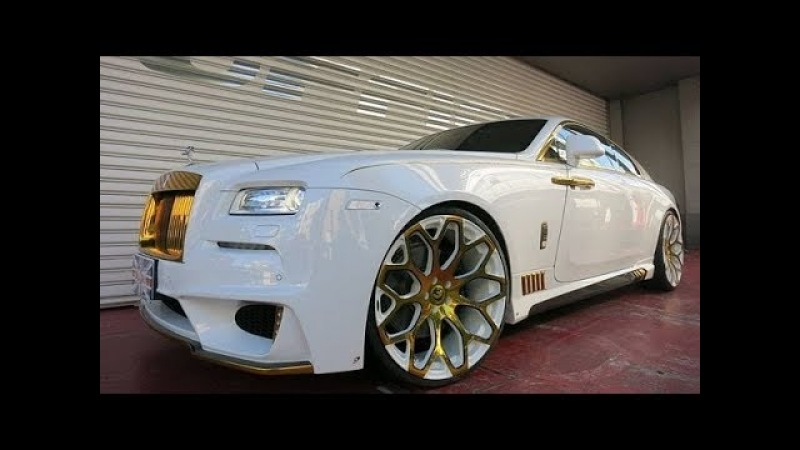 TOP 5 BEST Options Most Beautiful Cars by Rolls-Royce 4K VIDEO