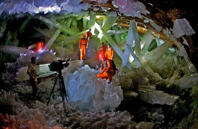Mexico NAICA La Maravillosa Cueva De Los Cristales Chihuahua