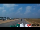 Indian Army Tornadoes Motorcycle Team - 58 men on 500cc Royal Enfield