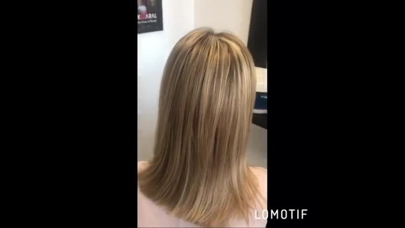 Тонирование волос после мелирования (до и после). Мастер Юнона💇🏼♀️💃💇🏼♀️. ☎️ для записи 3️⃣8️⃣9️⃣6️⃣5️⃣4️⃣❗️ ритмыстиля тюмен