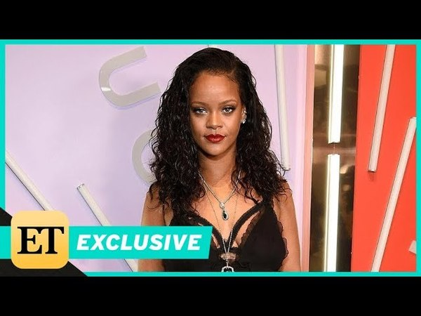 ET Rihanna Wonders If She's Been Kicked Out of the 'Ocean's 8' Group Text