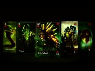 Игральные карты Sevcards DOTA 2 (краткий обзор с озвучкой)