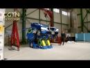 """Японский робот-трансформер по имени """"J-deite RIDE"""" за несколько минут превращается в двухместны спорткар"""