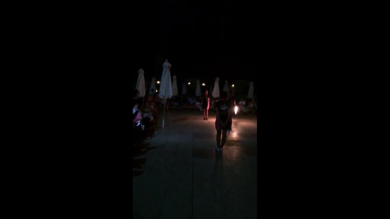 Fire Show / Hilton Sharks Bay