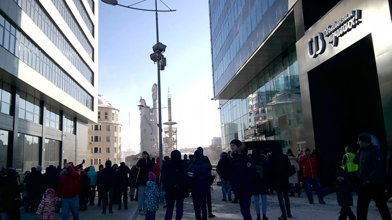 Снос телебашни в Екатеринбурге, 24.03.2018. Последствия.