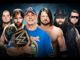 #WH_Present John Cena vs AJ Styles vs Bray Wyatt vs Dean Ambrose vs Baron Corbin vs The Miz - Elimination Chamber 2017