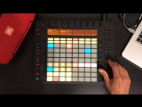 B-complex - Beautiful lies (live looping with Ableton push)