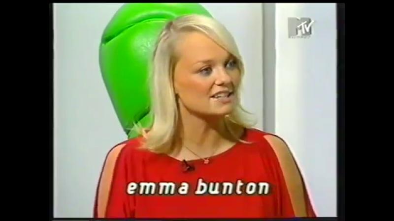 Emma Bunton - Select MTV Spain Interview 2001