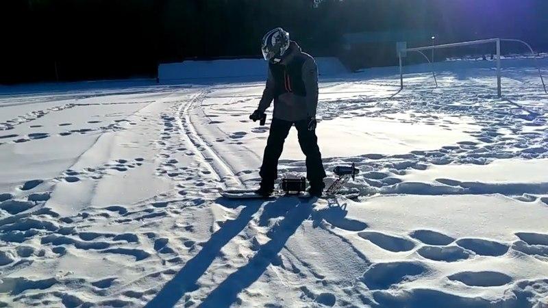 Jet Hackers Турбореактивный сноуборд