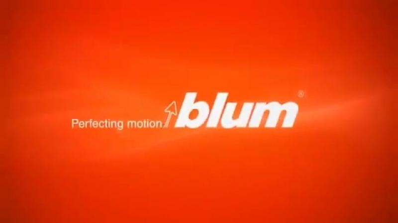 Презентация мебельной фурнитуры для кухни BLUM 01