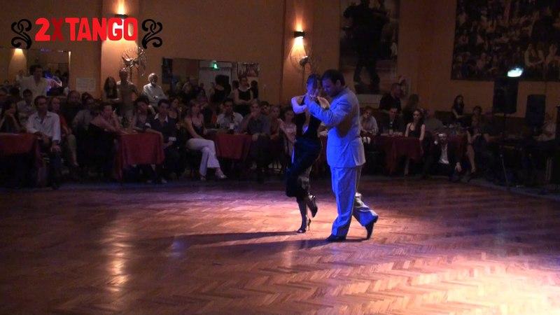 Fabian Peralta Lorena Ermocida Tango La Mariposa en Milonga Parakultural dic 2011