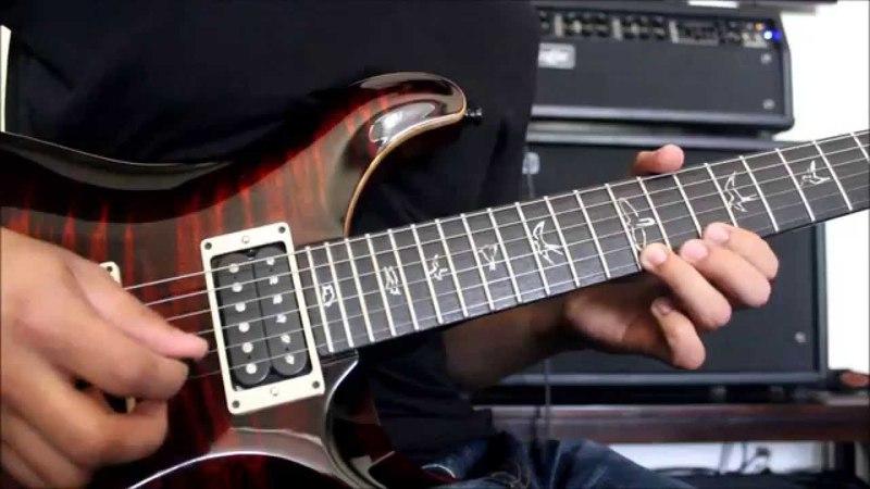 Chingon - El Cascabel Guitar Solo Tutorial