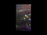 170924 BTS Taehyung Dancing to Blackpink Playing With Fire @ Super Concert