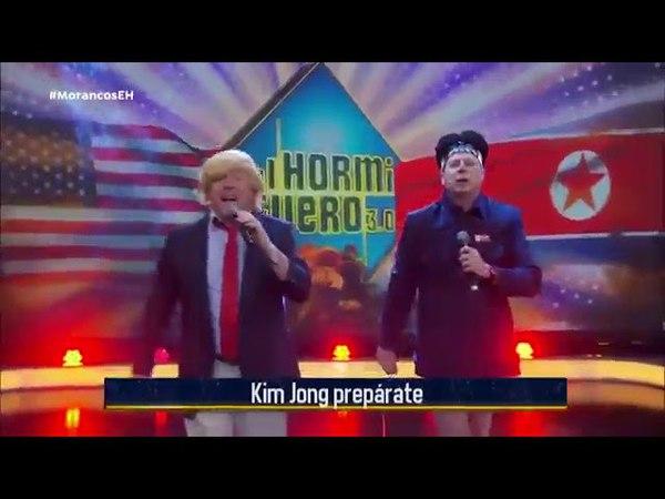 LOS MORANCOS TRUMP Y KIM