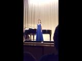 Сегидилья из оперы Ж.Бизе