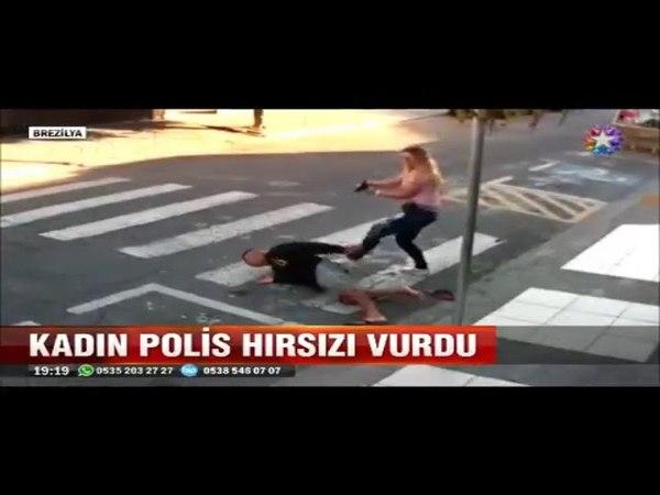 Okulda soygun yapmaya kalkan şaşkın hırsızı kadın polis böyle karşıladı