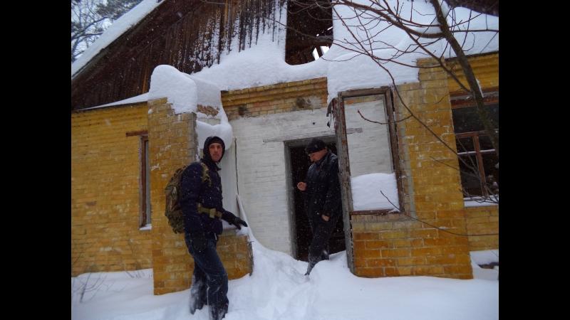 Заброшенная воинская часть возле Коцюбинское ,зимняя полазка 1-е марта 2018 год
