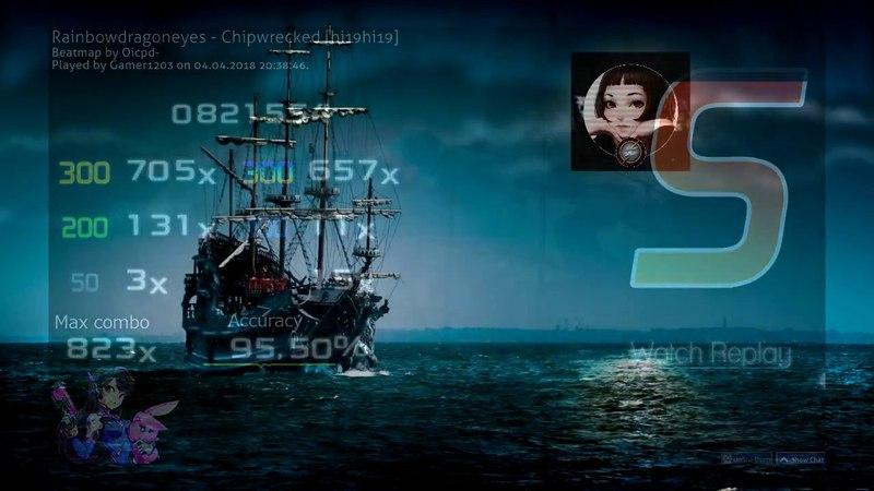 Osu!mania 4k l Rainbowdragoneyes - Chipwrecked [S]