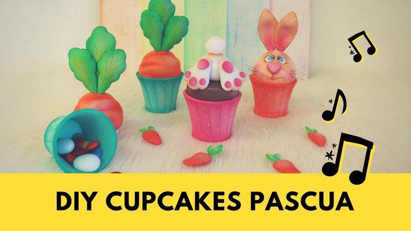 Gemas Foamy_Diy Cupcakes de Pascua