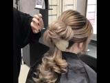 Причёска с изюминкой