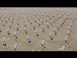 Мировой рекорд  1372 одновременно танцующих робота