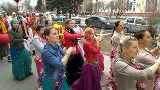 Солнечная весенняя Харинама-Санкиртана 07.04.18 Волгоград+Волжский