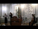 Г.Ф. Телеманн Tafelmusik Квартет ре минор, ч. 1 и 4