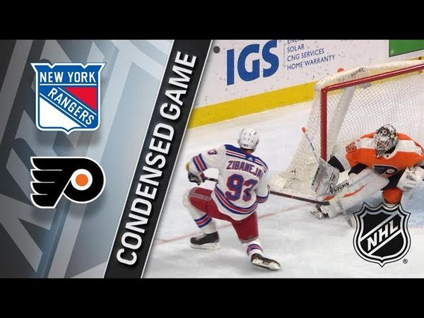 New York Rangers vs Philadelphia Flyers – Mar. 22, 2018 | Game Highlights | NHL 2017/18. Обзор