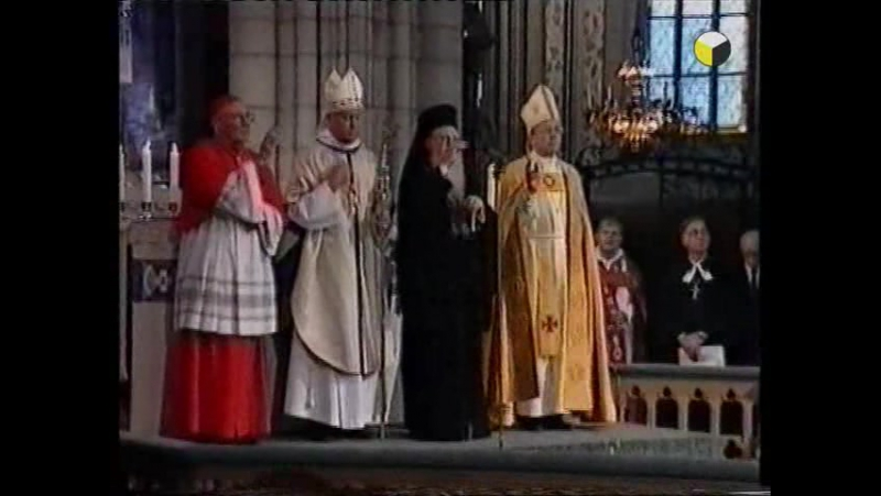 Крестовый поход Ватикана против Православия.