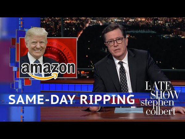 Trump Lashes Out At Amazon And 'Delivery Boy' USPS