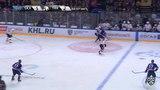 Моменты из матчей КХЛ сезона 17/18 • Гол. 5:3. Пеньковский Артём (Трактор) забрасывает шайбу в ворота соперника 29.01