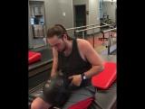 Упражнение для пресса и мышц спины