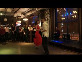WCS improvisation. Samokrutova Evgeniya&Aleksey Simon. 12/11/2017 HB Salsa Emocion