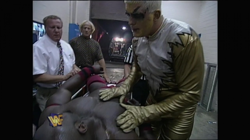 Goldust decided to revive Ahmed Johnson May 27 1996