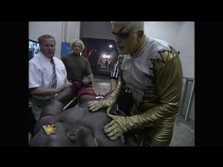 Goldust decided to revive Ahmed Johnson May, 27 1996